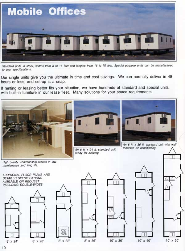 Modular Classroom Specifications ~ Mobile facility engineering press boxes office